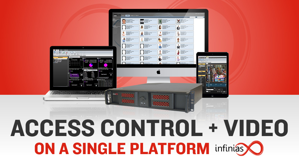 Access Control + Video on a Single Platform with infinias