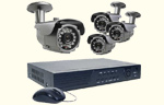 4 Channel H.264 Turn-Key Video Security System