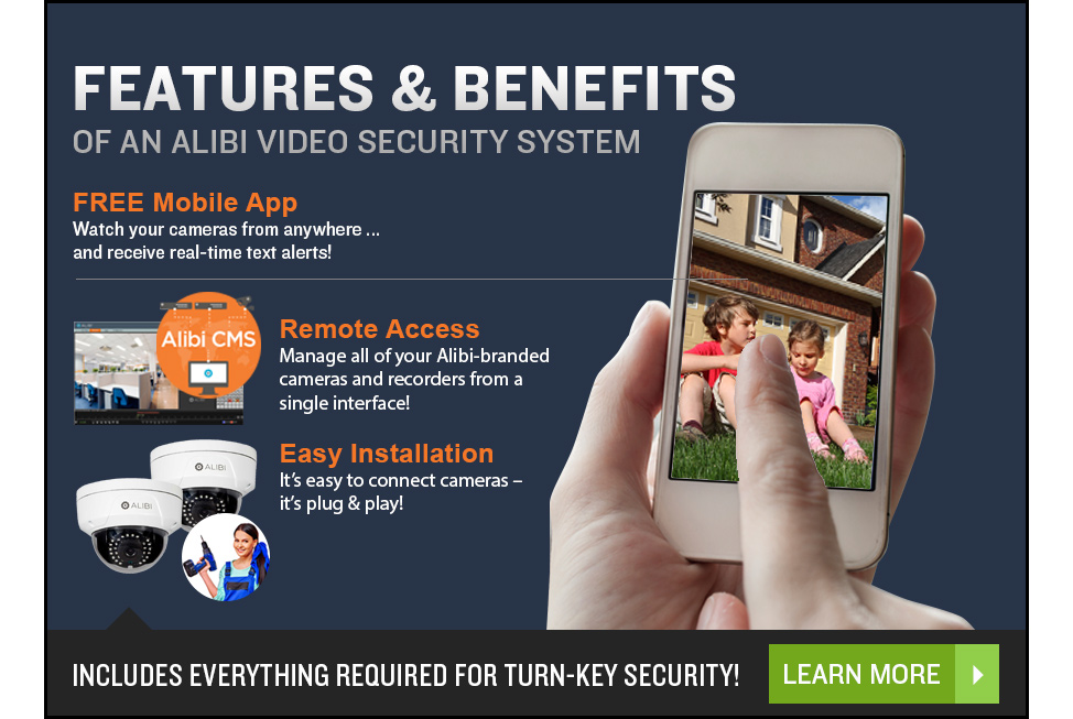 FEATURES & BENEFITS OF A VIDEO SECURITY SYSTEM