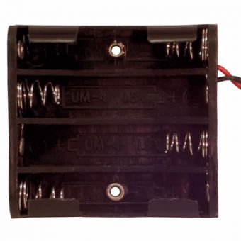 12 Volt 8 Cell AAA Mini Battery Holder
