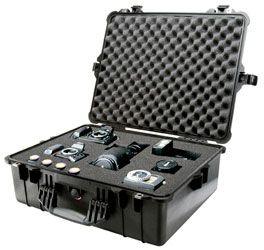 IP67 Black Pelican 1600 Case