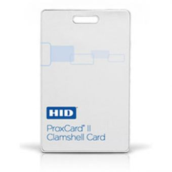 HID ProxCard II Access Control Clamshell