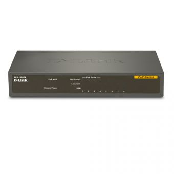 D-Link 8-Port Desktop Switch with 4 PoE Ports