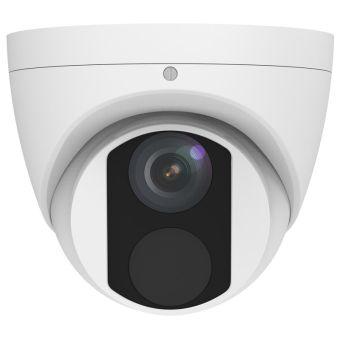 4.0 Megapixel 30 ft IR Vandalproof WDR Wedge Outdoor Dome IP Camera