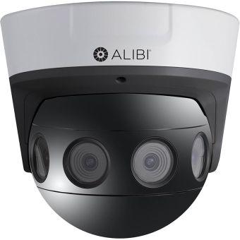 4K 8.0 Megapixel 180° Panoramic IP 65' IR Security Dome Camera