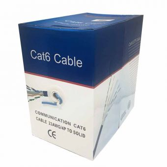 1000 ft CAT5e 350MHz Network Data Cable UL ETL Listed