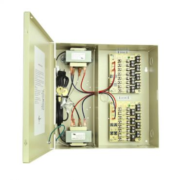 16 Camera 16.8 Amp Power Supply - 24 Vac, with Leads