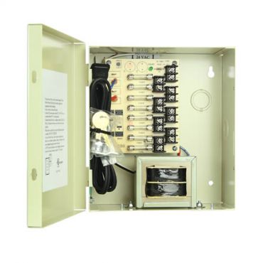 8 Camera 8.4 Amp Power Supply - 24 Vac, with Leads