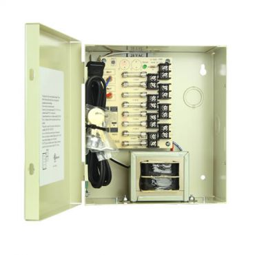 8 Camera 4.2 Amp Power Supply - 24 Vac, with Leads