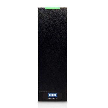 HID iClass R15 Mullion Mount Smart Card Reader - Black