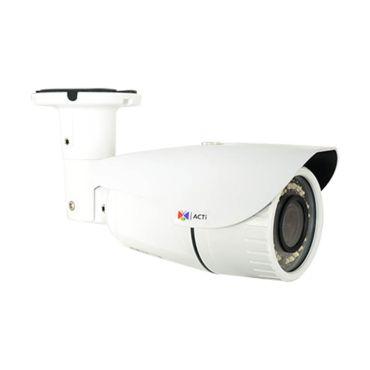 ACTi 3MP 100' IR WDR IP Zoom Bullet Security Camera