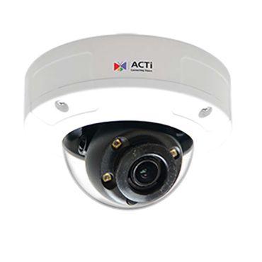 ACTi 3MP 100' IR Zoom WDR IP Mini Dome Security Camera