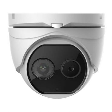 Alibi Witness 2MP Dual Lens Bi-Spectrum Thermal 50' IR Starlight IP Turret Camera
