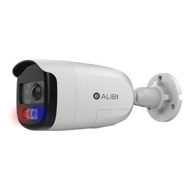 Alibi Witness 2MP Starlight 130' White Light HD-TVI/AHD/CVI/CVBS Bullet Camera with Siren and Strobe Lights