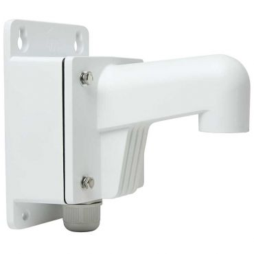 Alibi Witness Short Wall Mount Bracket with J Box for ALI-CD/ALI-IPV Series Dome Security Cameras