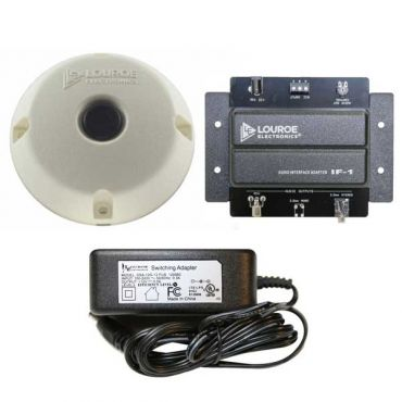 Single Zone Audio Monitoring System for IP Cameras and Recorders