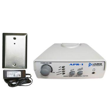 Louroe Single Zone Audio Surveillance System with Verifact D Microphone