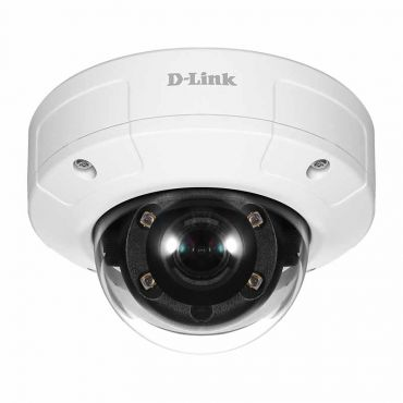 D-Link Vigilance 2MP Full HD 65' IR Outdoor Vandalproof PoE Dome Camera