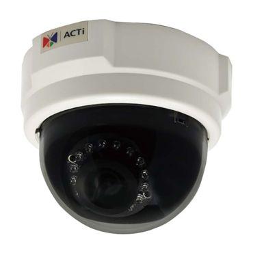 ACTi 5MP 100' IR WDR IP Dome Security Camera