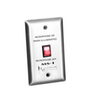 Microphone Mute Switch for Louroe ASK-KIT4-102 Audio Surveillance System