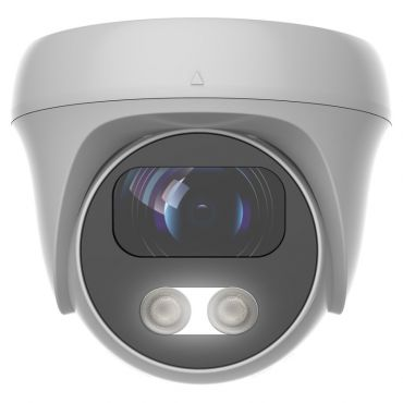 Alibi Vigilant Flex 8MP 80 ft. White Light HD-TVI/AHD/CVI/CVBS Fixed Turret Camera w/Built-in Audio