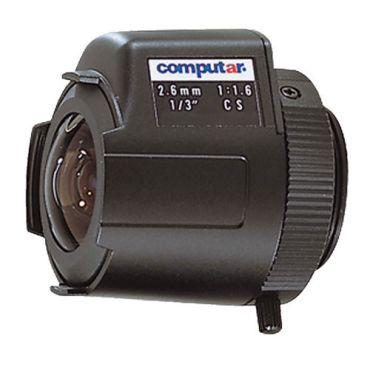 Lens - 2.6mm, DC Auto Iris, CS-Mount