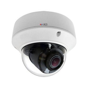 ACTi 2MP 130' IR WDR IP 4.3x Zoom Dome Security Camera